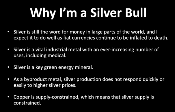 Why I'm a Silver Bull
